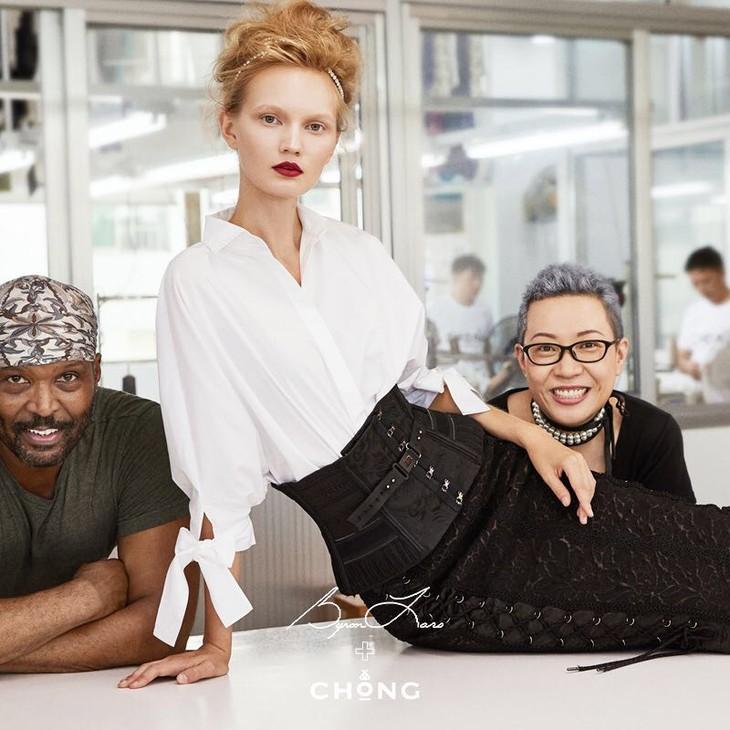 设计师 BYRON LARS,小虫,以及他们 BYRON X CHONG 联名系列