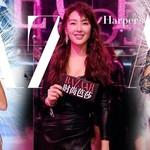 张雨绮拎爱马仕看维密秀,可今年的fantasy bra都是碎钻!