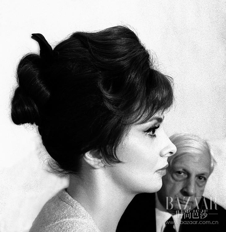 Gina Lollobrigida & Giorgio De Chirico