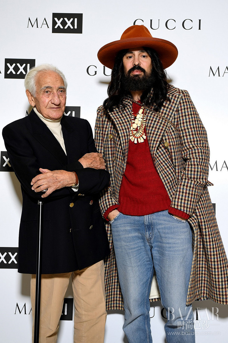 Paolo Di Paolo and Alessandro Michele