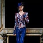 Armani Privé——红蓝交织的法兰西之梦