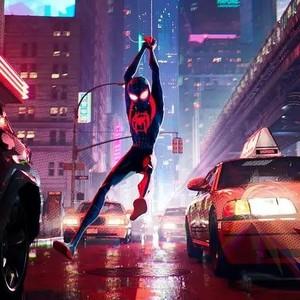 6位蜘蛛侠一次性同框,能在电影院里看漫画简直太酷了!
