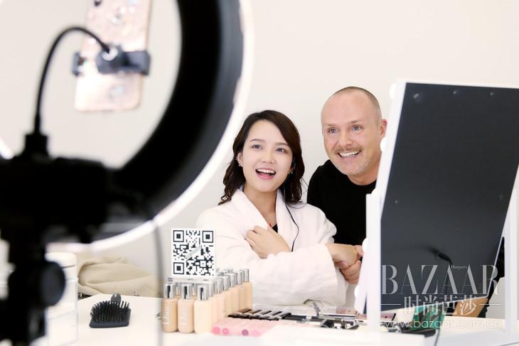 Dior迪奥彩妆创意与形象总监Peter Philips与美妆博主互动-1