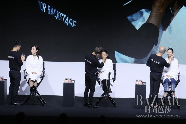 Dior迪奥国际彩妆师为模特打造专属妆容-1