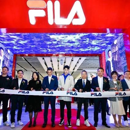 FILA运动时装屋强势登陆福州东百中心