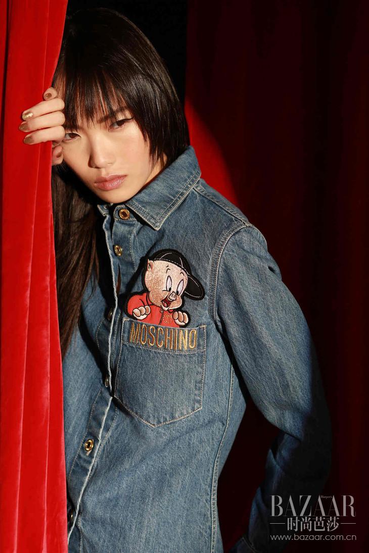 MOSCHINO 2019春节限量系列单宁衬衫 RMB 5,690