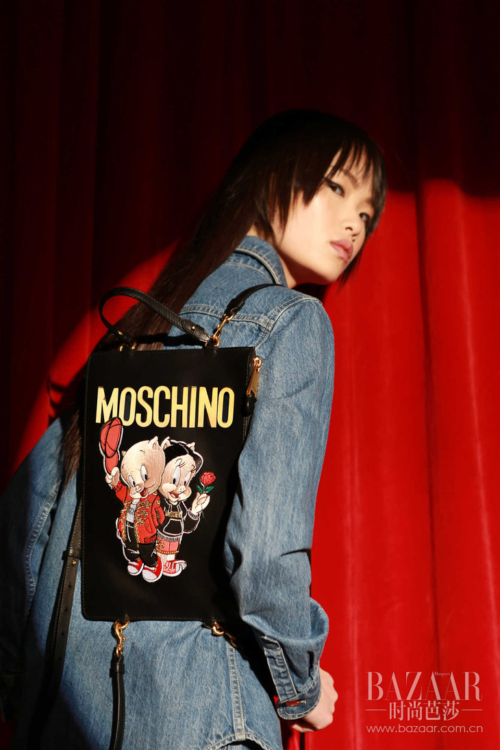MOSCHINO 2019春节限量系列多功能双肩包 RMB 6,090