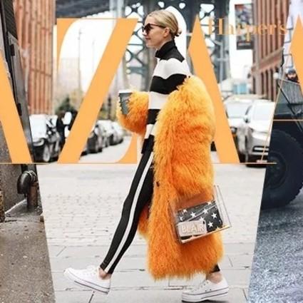 糖果谁不爱?冬季首选的皮草大衣都走甜酷路线了!