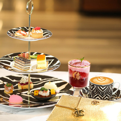 Roberto Cavalli携手北京SKP RENDEZ-VOUS  推出限定精品下午茶 邂逅时尚奢华午后时光