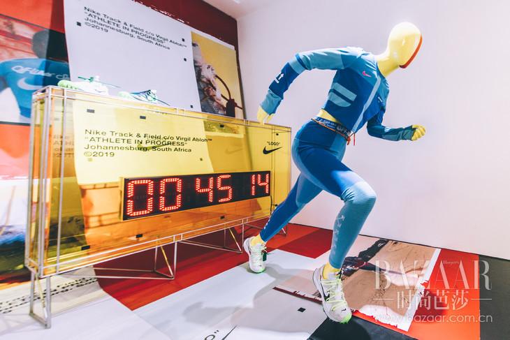 "Nike co Virgil Abloh ""Athlete in Progress"" 系列"