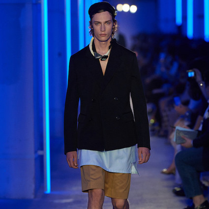 Prada 2020春夏男裝時裝秀  上海東岸·民生藝術碼頭  2019年6月6日     Prada 2020春夏男裝系列