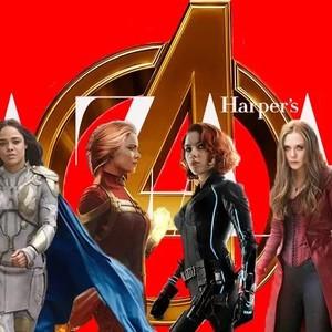 复仇者联盟最后一次大集结,看到女英雄们神仙打架我哭了……