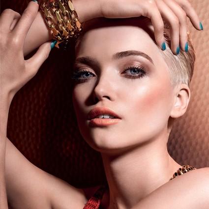 Dior 2019年夏季妆容 狂野大地