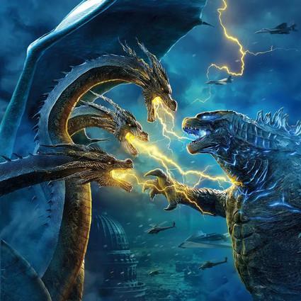 本来想去看章子怡,结果这群怪兽打架也太精彩了吧!