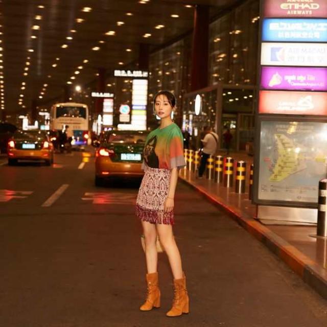 李纯出发前往戛纳电影节,开启电影节之旅