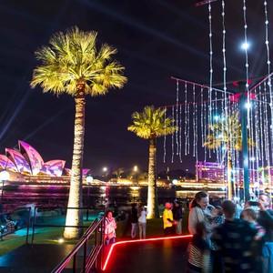 中国艺术家为缤纷悉尼灯光音乐节带来优秀作品