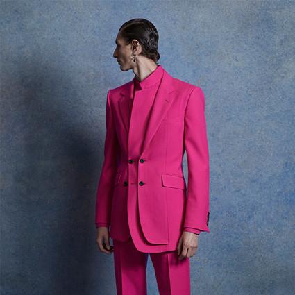 Alexander McQuee2020年春夏男装系列 解构混搭不设界