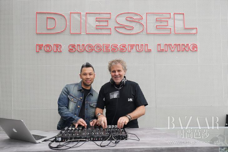 Diesel品牌创始人Renzo Rosso与鬼才街头视觉艺术家Jayson Atienza