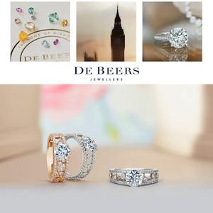 戴比尔斯 (DE BEERS) Dewdrop订婚戒指全新上市  礼赞恒久爱情