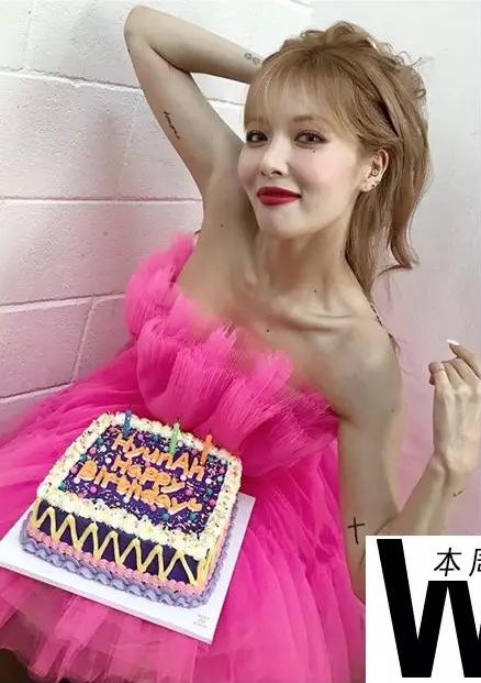 泫雅穿死亡芭比粉过生日,怎么大家都想为Angelababy提裙?