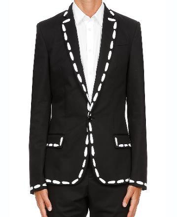 MOSCHINO 2019春夏系列缝纫印花西服外套 RMB 12,890