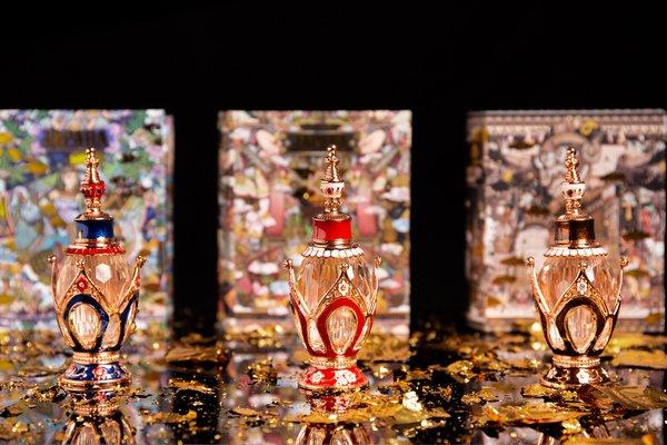 """JAPARA费洛曼精油香水的""""神圣皇家香味系列""""非常值得一试"""