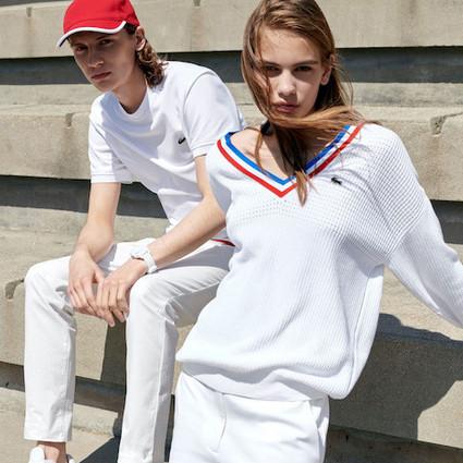 颠覆型动――LACOSTE的时尚网球混搭哲学