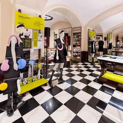 Prada于米兰举办Prada Invites系列庆祝酒会  与谷歌合作带来3D虚拟现实艺术体验
