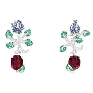来自花卉的灵感 迪奥花园主题高级珠宝  Dior高级珠宝Rose Dior系列 Dior的玫瑰故事