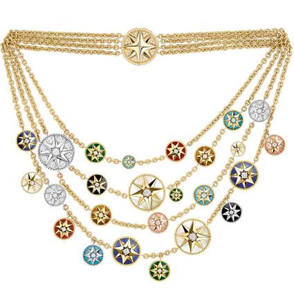 迪奧高級珠寶 迪奧先生的幸運符  Mimirose 高級珠寶系列