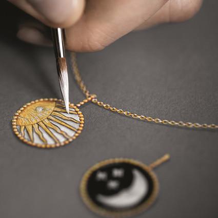 迪奥 Rose Céleste 高级珠宝系列 精湛工艺