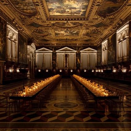 DIOR迪奥Gem Dior顶级珠宝系列于威尼斯发布 声光不止 盛宴不停