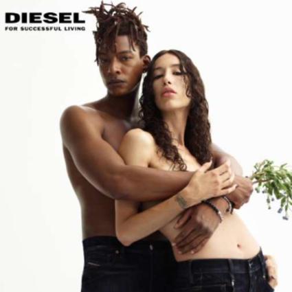 DIESEL推出颠覆性全新Velvet丝绒质感丹宁系列