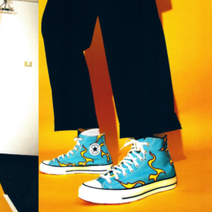 CONVERSE 联手TYLER, THE CREATOR推出 Chuck 70 Flames