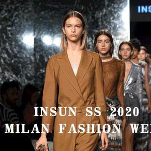 用89°刚与柔的新视角探索艺术时装 | INSUN恩裳2020春夏米兰时装周