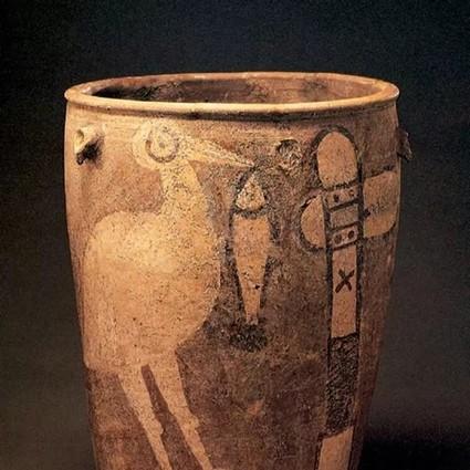 四十年前出土的陶缸,绘着六千多年前仰韶原始部落的秘密