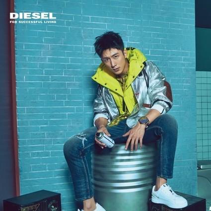 DIESEL隆重宣布黄景瑜为DIESEL品牌亚太区代言人