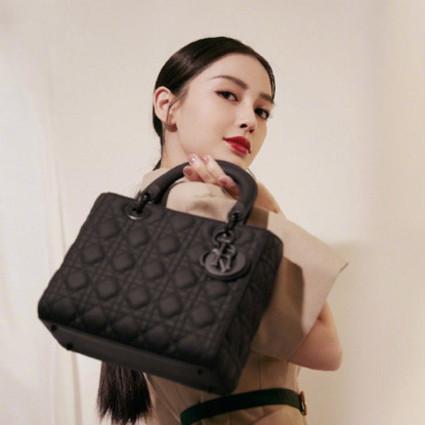女明星们不可或缺的时尚配件:LADY DIOR手袋