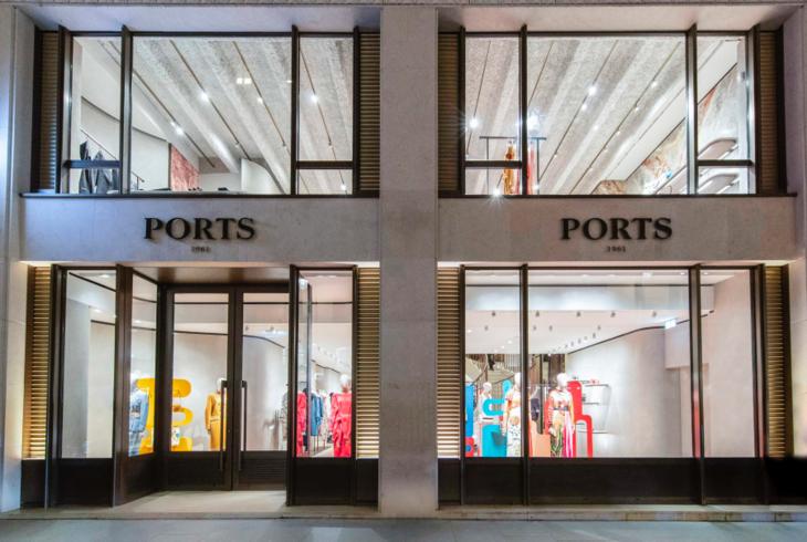 Ports 1961 巴黎旗舰店全新形象 -外观