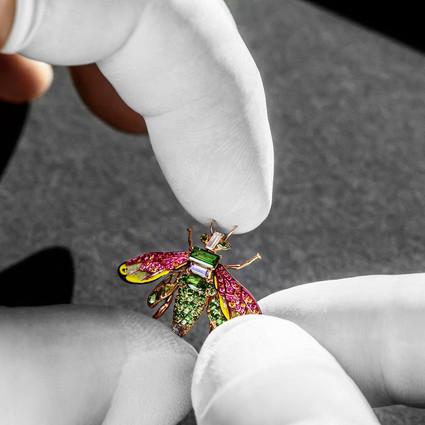 Dior Grand Soir蜂后系列顶级腕表