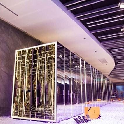 寺库与MSGM联手打造全球首场镜像快闪空间,潮范十足引爆魔都