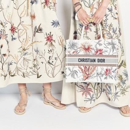 迪奥二零二零春夏成衣系列 花朵的力量