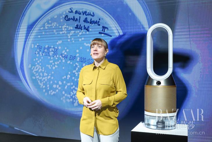 2.戴森高级研究科学家Gem McLuckie介绍戴森微生物实验室