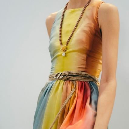 迪奥二零二零春夏成衣系列 温柔的扎染元素