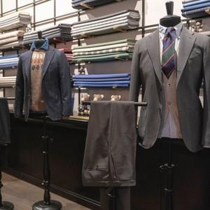 英国男装品牌Drake's 与维达莱合作推出全球独家面料款式
