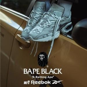 BAPE BLACK x Reebok联乘球鞋系列