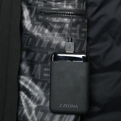 当科技赋值设计  Z ZEGNA 2019冬季系列推出全新可充电Power+夹克
