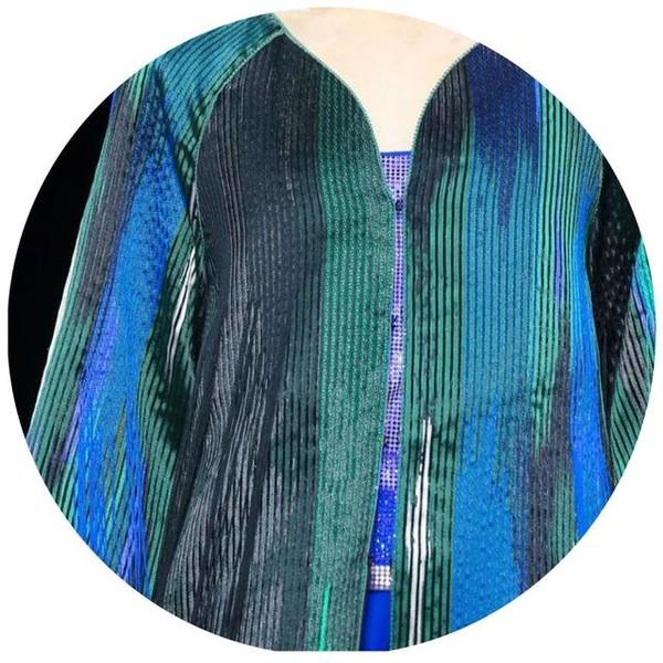 没想到,有一天Armani老爷子会用奇妙的絣织带我看世界