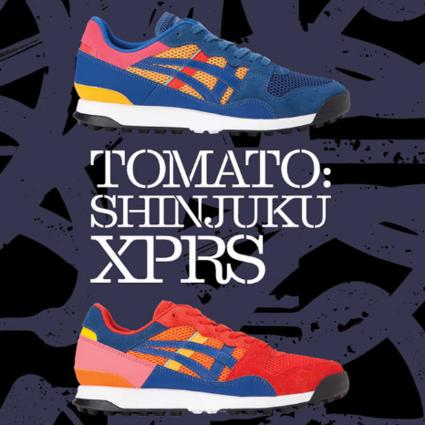 "Onitsuka Tiger 鬼�V虎全新推出""TOMATO SHINJUKU XPRS""鞋履"