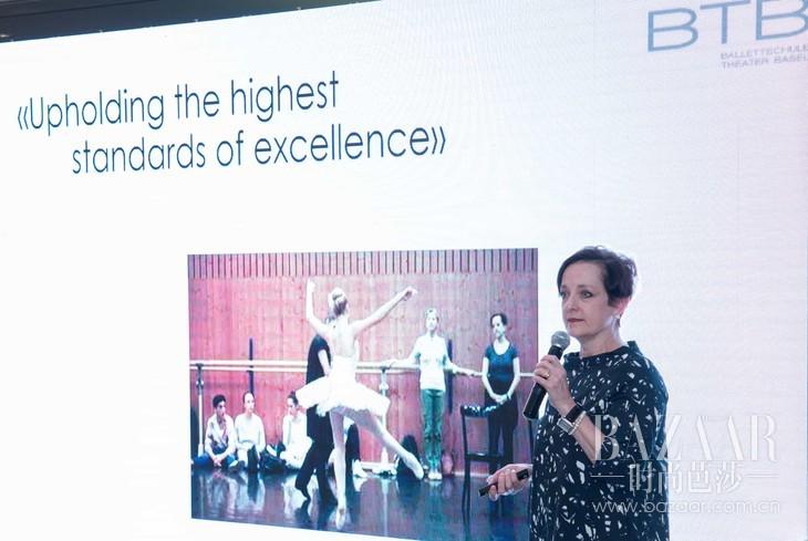 瑞士巴塞尔剧院芭 蕾舞学校创始人及艺术总监 Amanda Bennett 女士